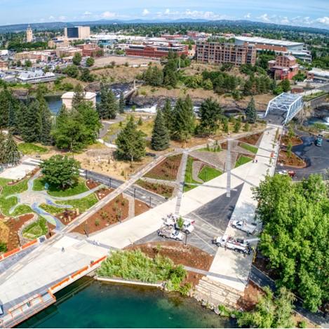 U.S. Pavilion & Howard Street Promenade Riverfront Spokane
