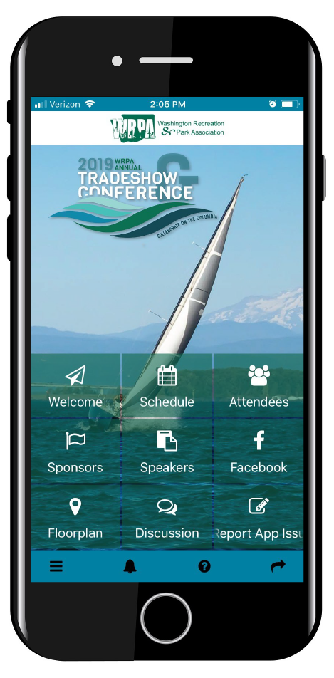 Interactive Conference App