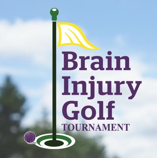 Brain Injury Golf Tournament Logo